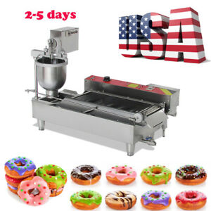2 5 Days Commercial Auto Automatic Donut Maker Doughnut Making Machine 3 Sets Us