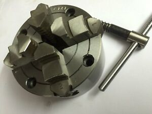 4 Inches100 Mm 4 Jaw Independent Chuck For Lathe Machine