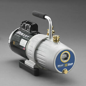 Yellow Jacket 93605 Bullet 2 Stage Vacuum Pump 5 0 Cfm