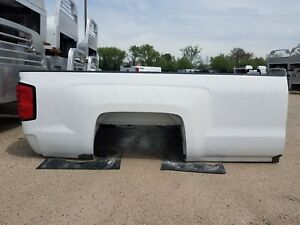 2015 Up Chevy 2500 Srw 8 6 New Take Off Pickup Bed White