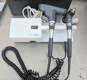 Welch Allyn 767 Wall Transformer W Panoptic Ophthalmoscope Otoscope
