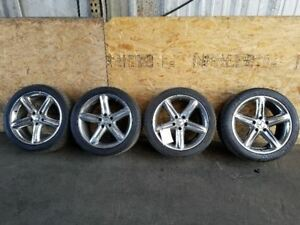 Mercedes 230 Sl500 18 18 Inch Set Of Wheels Rims Alloys Chrome 2304010502 Oem