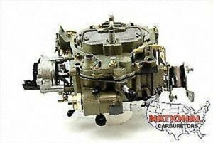 Rochester Quadrajet 4 Bbl Carburetor Fits 305 350 Engines 650 Cfm Electric Choke