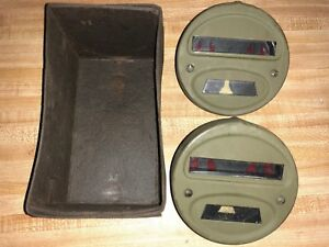Jeep Willys Ford Gpw Wwii Truck Blackout Rear Tail Lights Original Ford