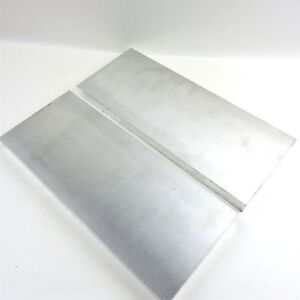 1 Thick Aluminum 6061 Plate 5 75 X 18 Long Qty 2 Sku 174486
