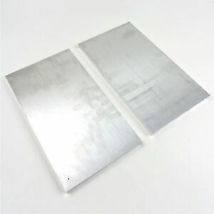 5 Thick 1 2 Aluminum 6061 Plate 6 9375 X 11 25 Long Qty 2 Sku 174491