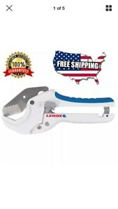 Lenox Pvc Cutter Tool Cuts Up To 1 5 8 In One Handed Operation Design Plumbing