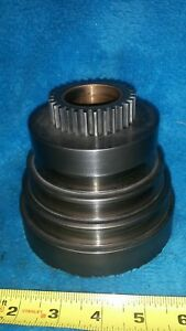Excellent Orig Logan 10 Model 1821 Lathe Headstock 3 Step Vee Drive Pulley Cone