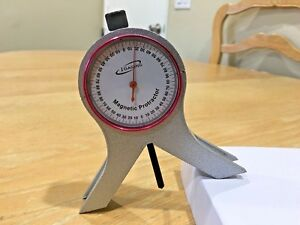 Igaging Magnetic Dial Protractor With Punch