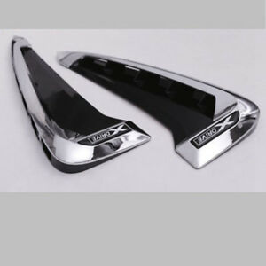 Side Marker Fender Air Wing Vent Trim M Cover For 2014 Bmw F15 X5 X5 35i