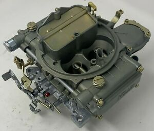 Holley Carburetor 600 Cfm Manual Choke 1850 Shiny Finish remanufactured