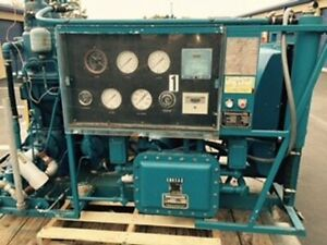 Used 20 Hp Norwalk Water cooled Oil free Cng Natural Gas Compressor