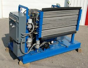 Reconditioned Rix 25 Hp 2200 Psig Oil free Nitrogen Gas Booster Compressor