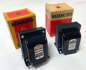 Lot Of 2 Hammond Low Voltage Filament 115v 60hz 1 167l36 1 167h60 Nos