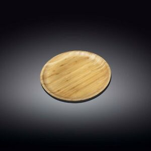 Wilmax Wl 771028 a Bamboo Plate 4 10 Cm Case Of 12 Case Of 12