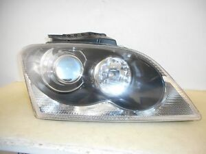 2004 2005 2006 Chrysler Pacifica Passenger Rh Halogen Projector Headlight Oem 54