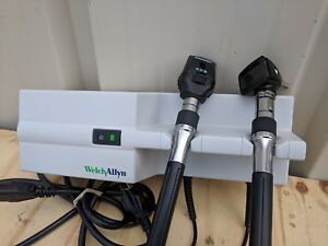 Welch Allyn 767 Wall Transformer With Panoptic Ophthalmoscope Otoscope