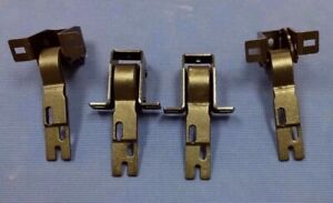 1955 1959 Chevrolet Gmc Pick up Upper And Lower Door Hinge Set Complete 4pc