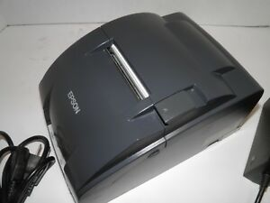 Epson Tm u220b M188b Dot Matrix Kitchen Bar Receipt Printer Ethernet W Power