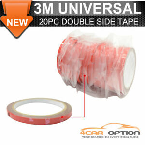 20x Rolls Acrylic Foam Versatile 3m Double Sided Tape Strong Permanent Adhesive