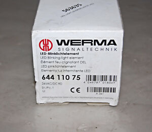 Werma Signal Technik 644 110 75 Led Blinking Stack Light