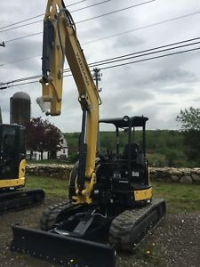 Yanmar Vio55 6a Mini Excavator With Bucket demo Model