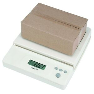 Digital Postal Scale Measures Shipping Weight Tare Up To 32 Kg 70 Lb