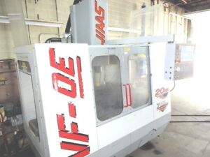 Haas Vf 0e Vmc W 4th 5th Axis Updated Cont will Ship Item At Your Expense