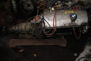 Bmw 1974 2002 Bmw 2 Liter Engine Motor And Automatic Transmission Unknown Miles