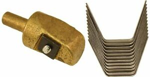 Ideal Tire Groover Regroover 12 3 4 Brass Head And 12 12 Square Blades
