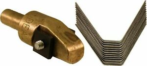 Ideal Tire Groover Regroover 8 1 2 Brass Head And 12 8 Square Blades