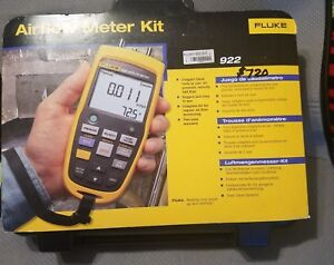 Fluke 922 kit Airflow Meter Kit With A Nist traceable Calibration Certificate