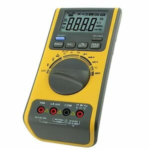 Digital Multimeter Voltmeter Thermometer Ohm Usb cd Bp W Software