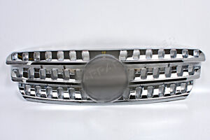 Mercedes Ml Class W163 1998 2005 Front Chrome Grill Central Grille
