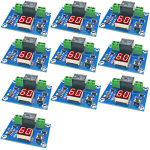 10x Xh m662 12v Digital Timer Switch Countdown Timer Module Automatic Controller