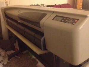 Hp Designjet 42 500ps Plotter Printer 3 Month Full Warranty Reconditioned