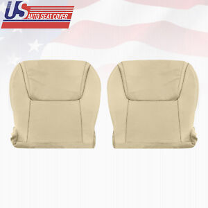 Fits 2008 2015 Lexus Lx570 Driver Passenger Bottom Leather Seat Covers