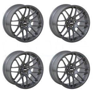 18x8 5 Vmr V703 vb3 5x112 45 Gunmetal Wheels Rims Set 4