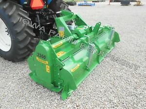Tractor 3pt H dty Pto Rotary Tiller 93 Valentini H2300 Qh Compat 100hp Gbox