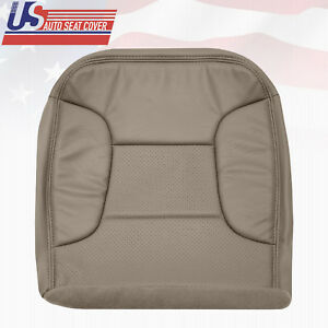 1992 1996 Ford Bronco Driver Bottom Vinyl Seat Cover Perforated Med Mocha Tan