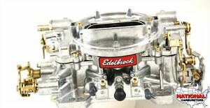 Edelbrock Remanufactured Carburetor 500 Cfm Hand Choke 1404