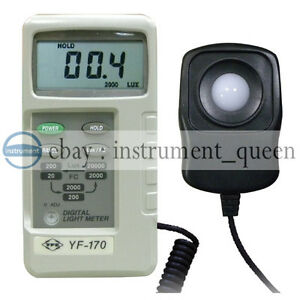 Tenmars Yf 170 Light Meter 0 1 To 20000 Lux Lux Foot Candle fc