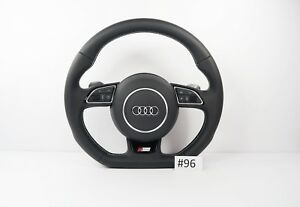 Audi S Line Flat Bottom Steering Wheel With Airbag Shift Paddles A3 S3 Rs3 96
