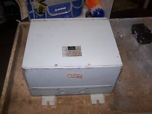 Square D 9 Kva Wall Mount Dry Type Transformer 480 Hv 208y 120 Lv 3 Phase 9t2f