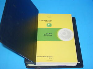 John Deere 2350 2550 Parts Catalog Pc4187