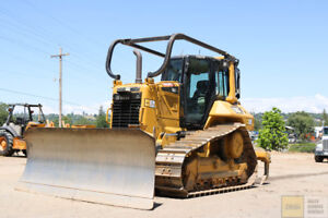 2015 Cat caterpillar D6n Xl Dozer Cab Heat ac Pat Blade Ms Ripper 1800hrs Tier 4