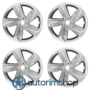 Hyundai Veloster 2013 2015 18 Factory Oem Wheels Rims Set With Tpms Slot