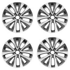 Acura Mdx 2014 2016 19 Factory Oem Wheels Rims Set 42700tz5a11