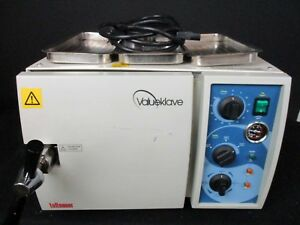 Tuttnauer 1730kv Dental Steam Autoclave Sterilizer For Instruments