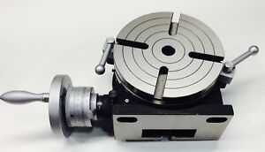 8 Vertex Horizontal And Vertical Rotary Table 5 Year Warranty Free Shipping